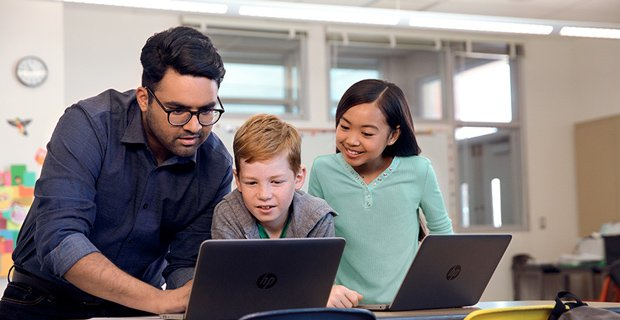 Reimagining education: Creating connections in the hybrid classroom
